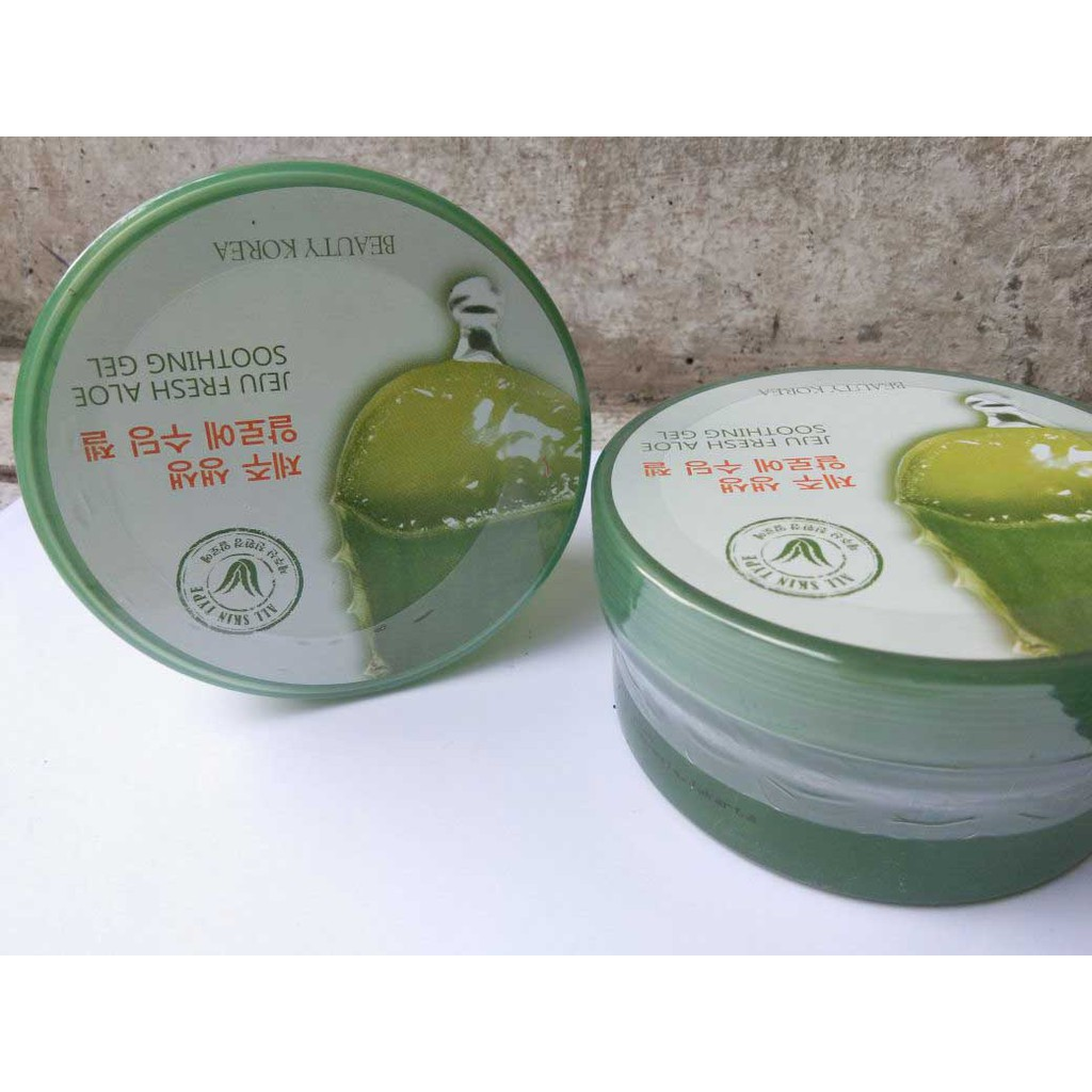 K Beauty Jeju Fresh Aloe Vera Shooting Gel Bpom Korea Soothing Dan Original Shopee Indonesia