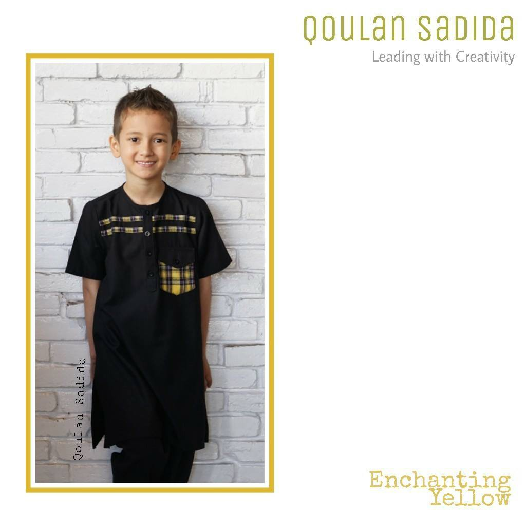 Koko Anak Enchanting Yellow by Qoulan Sadida