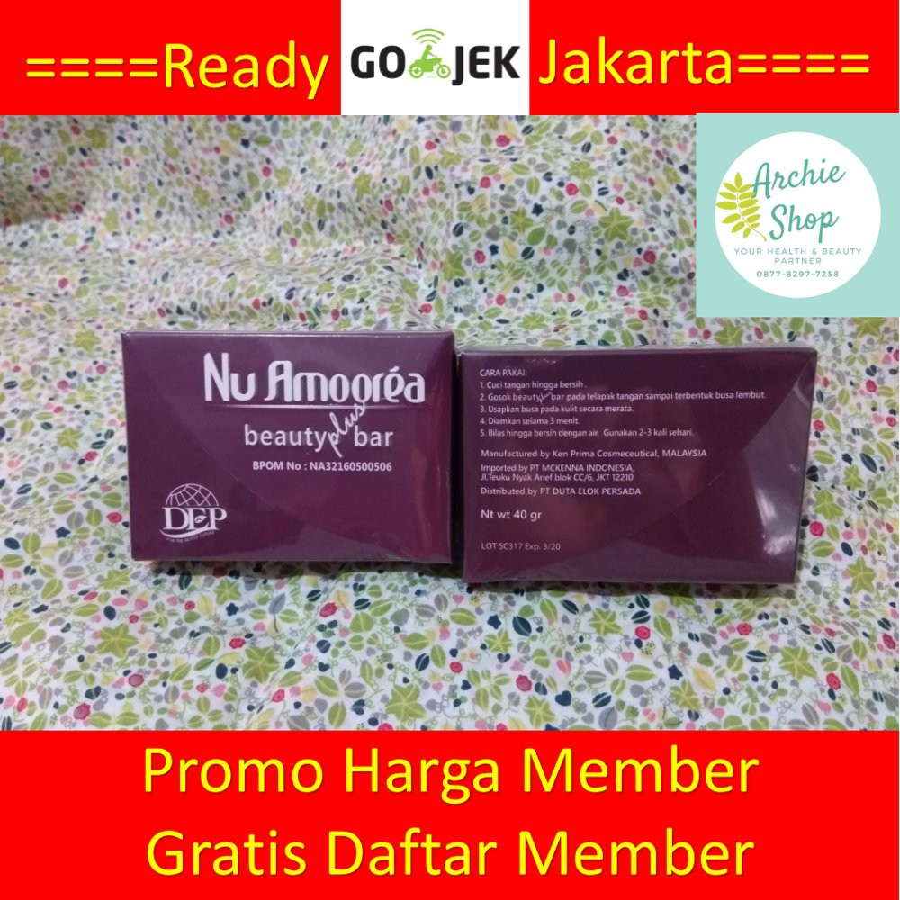 Nu Amoorea Beauty Bar Stem Cell 45gr Shopee Indonesia Nuamorea Steam 15 Gram
