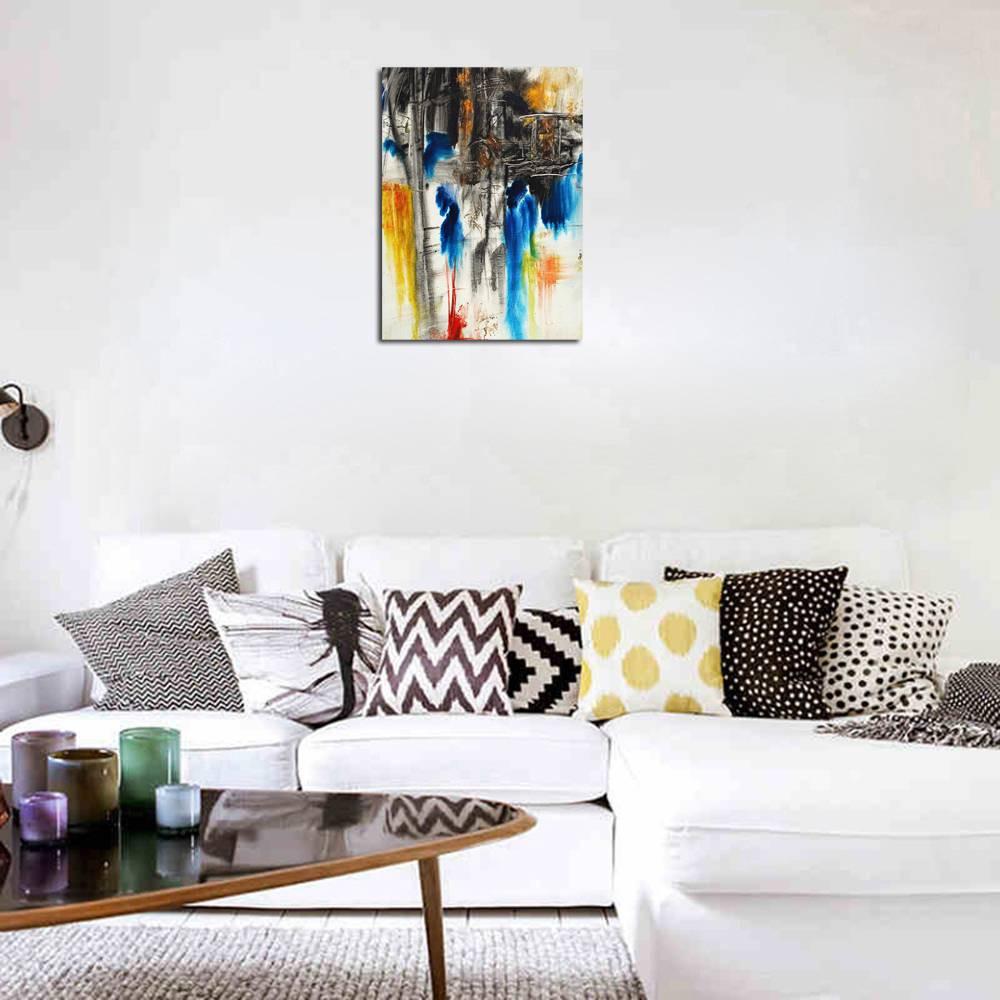 1Pc Lukisan Modern Gambar Abstrak Untuk Dekorasi Rumah
