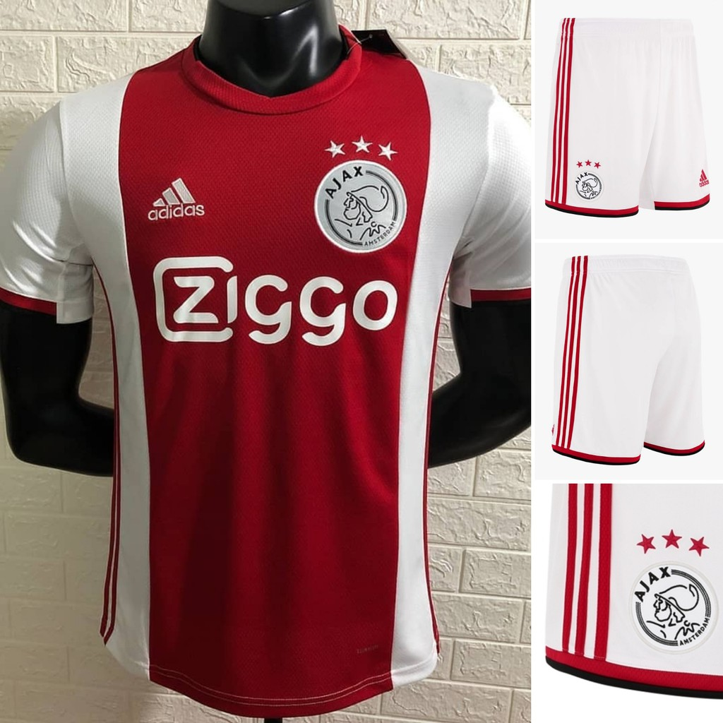 Jersey Ajax Home 1 Stel Musim 19 20 2019 2020 Ajax Amsterdam Go Grade Ori Thailand Aaa Jersey Kaos Shopee Indonesia
