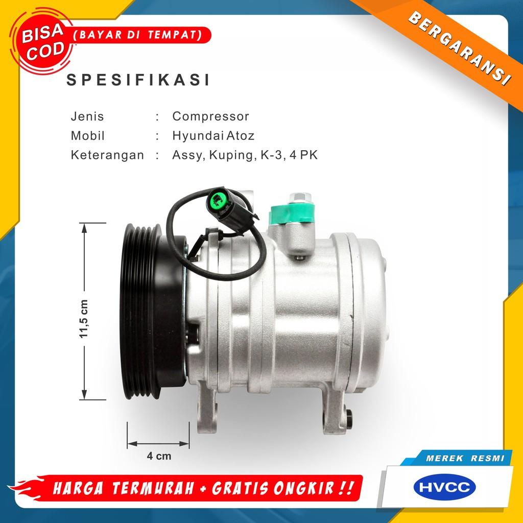 Compressor Kompresor Ac Mobil Hyundai Atoz Harga Murah Merek Resmi Shopee Indonesia