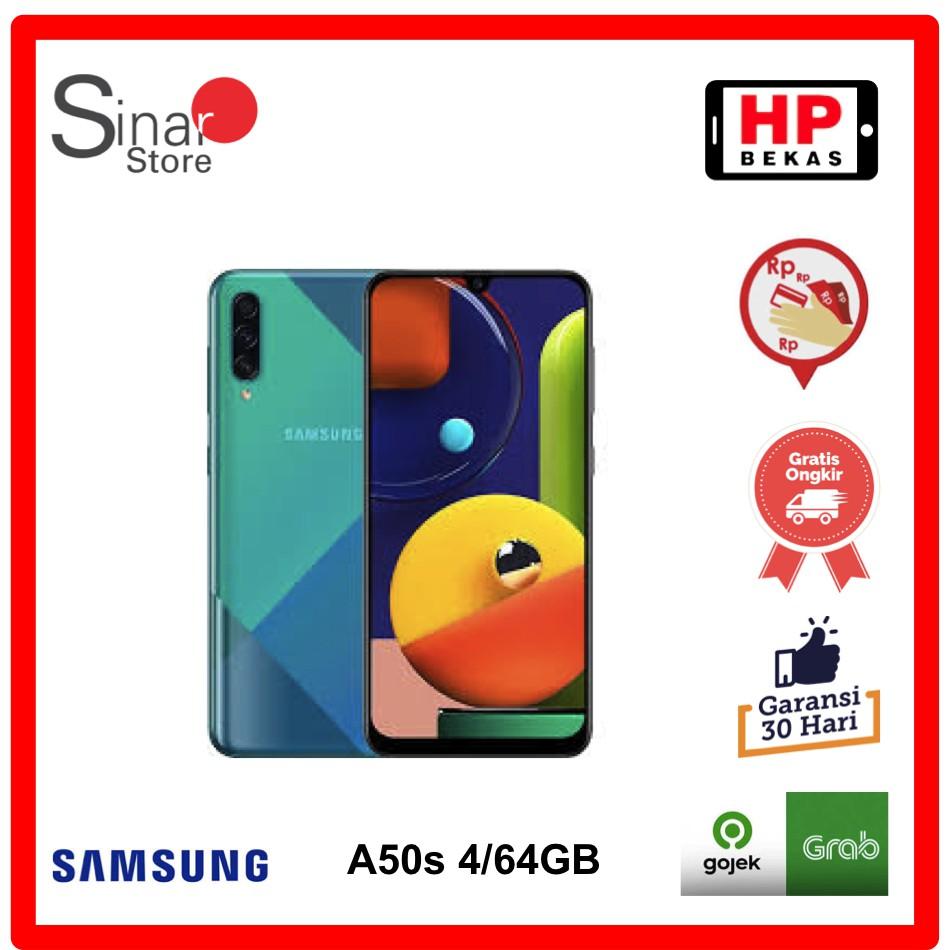 Samsung Galaxy A50s 4/64GB Handphone bekas SEIN