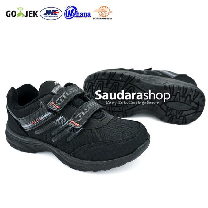 Kiriman Terupdate   Sepatu Sekolah Hitam Polos Nike Air Max 90 Back To  School Full Black. .. 000b413b9b