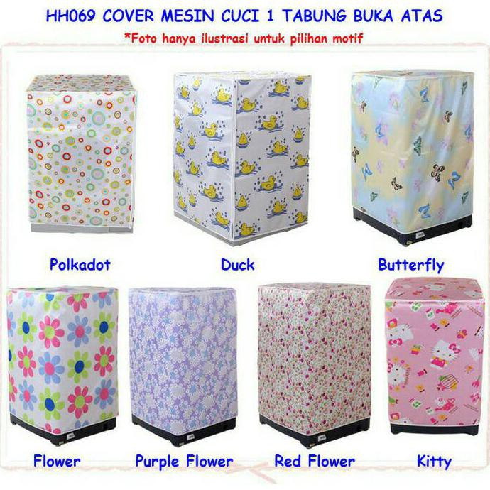SARUNG MESIN CUCI COVER 2 TABUNG BUKA ATAS ANTI AIR PANAS TIPE C   Shopee Indonesia