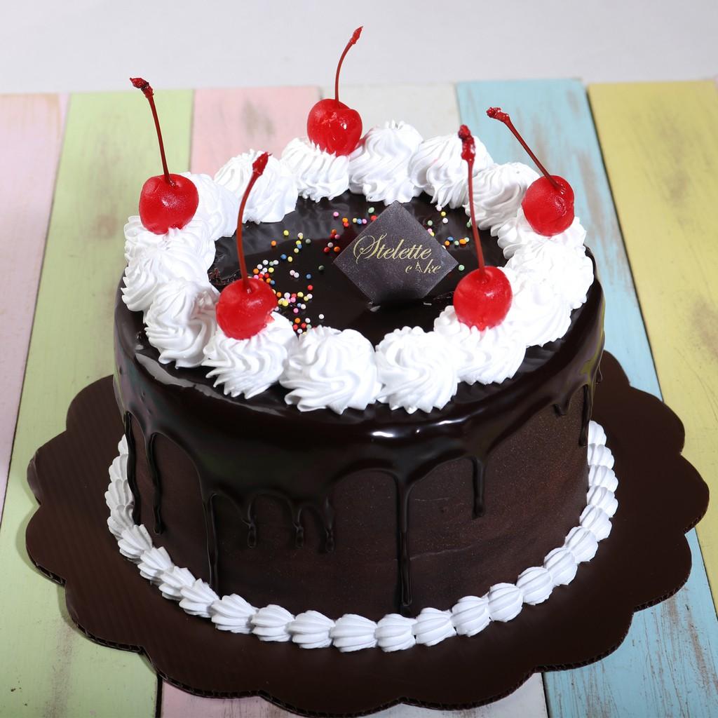 Kue Ulang Tahun Ukuran Diameter 16 Cm Chocolate Fudge