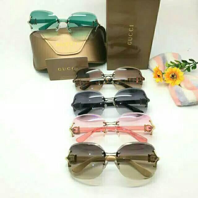 Kacamata Gucci 18607 md Promo Kacamata fashion wanita terbaru   kaca mata  best seller kw super  718523e76f