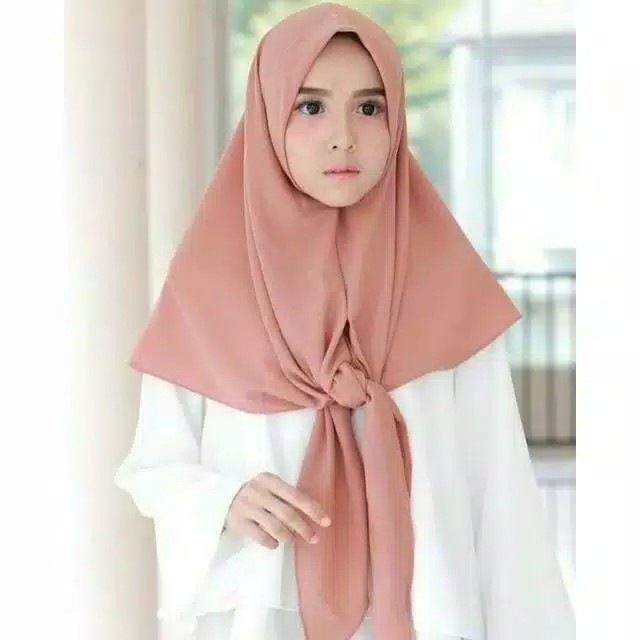 1kg 15pcs Triangle Segitiga Instant Jilbab Hijab Khimar Bergo Kerudung Segiempat Instant Shopee Indonesia