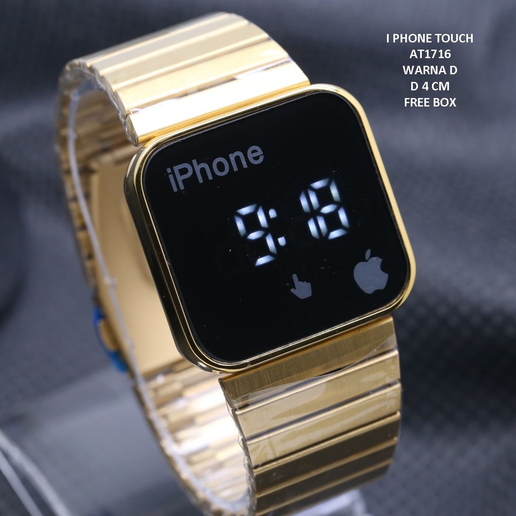 Iphone Touch Led Unisex Ip 2298 Shopee Indonesia Jam Tangan Pria Skmei Digital Analog Keren Ad1040 Cowok
