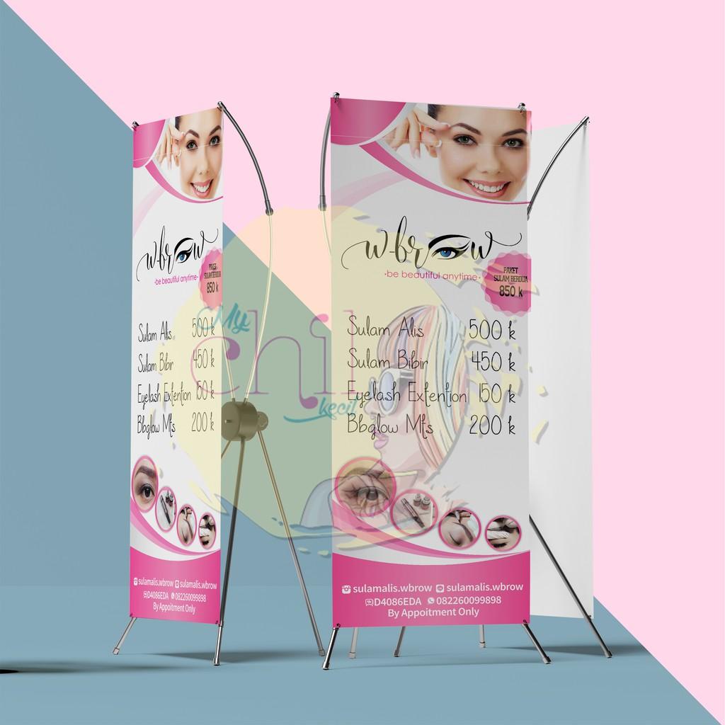 Desain Banner Eyelash Extension - gambar spanduk