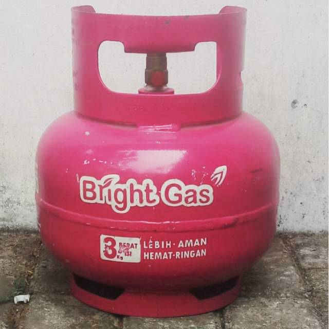 Bright Gas 3 Kg Kosong Gas Pink 3 Kg Gas Non Subsidi 3 Kg Shopee Indonesia