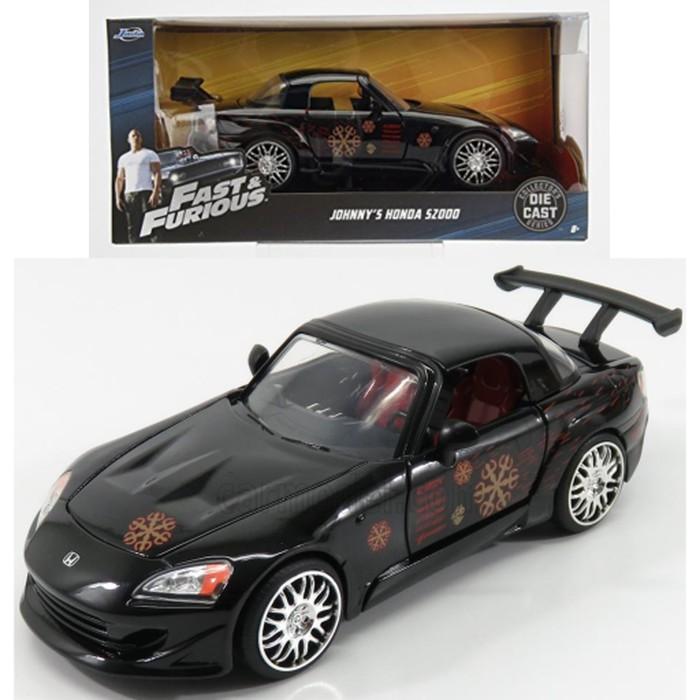 Negro de Honda S2000 de Johnny rápido y y furioso 2 1:24 Jada