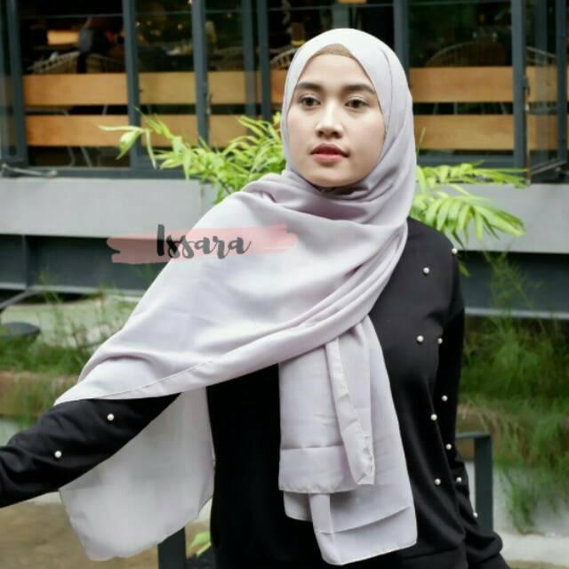 Pashmina Polycotton Pashmina Bella Bella Shawld Shopee Indonesia