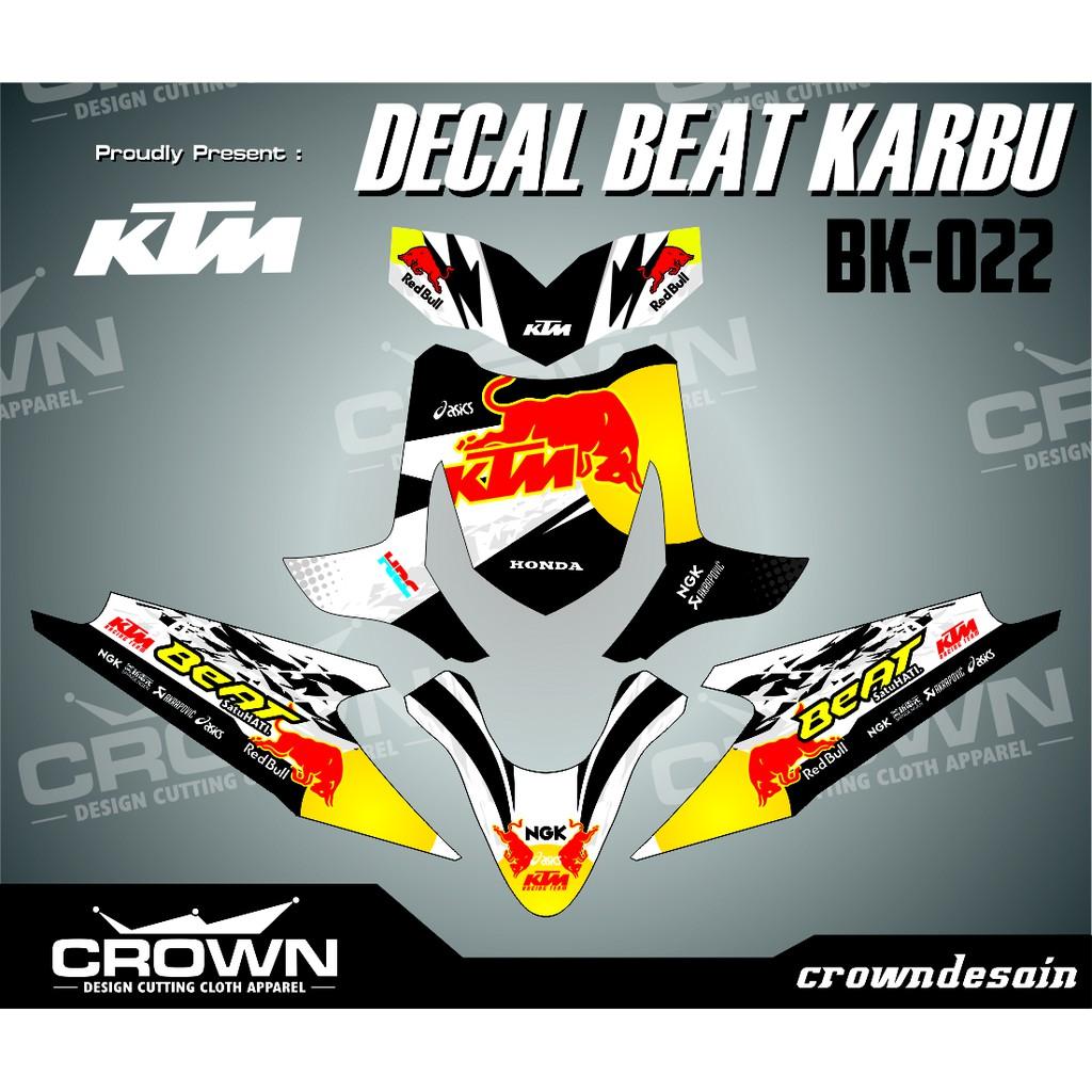Sticker decal honda scoopy fi full body doraemon shopee indonesia