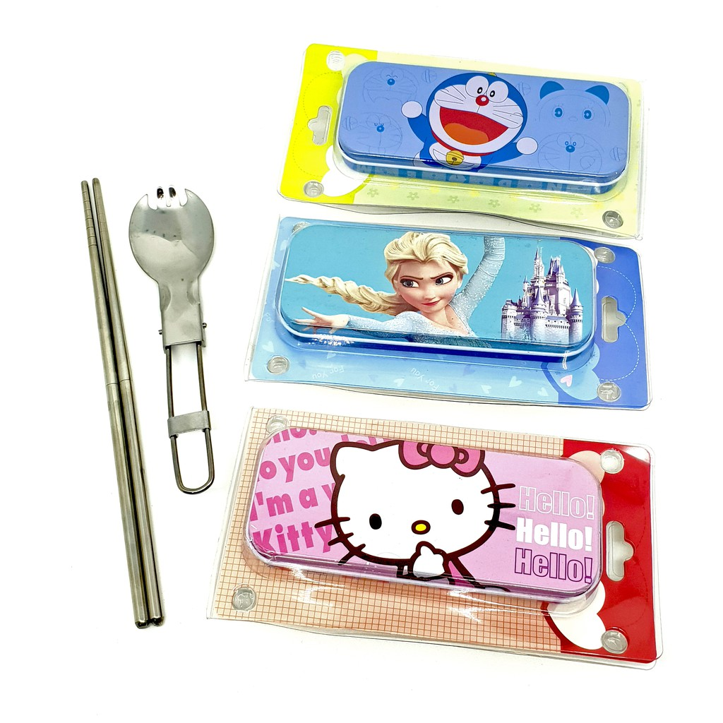 Kotak Makan Anti Tumpah Bergambar Sekat Lunch Box Bekal Bpa Free Yooyee Leakproof Lunchbox Mini 605 4 Biru Muda Shopee Indonesia