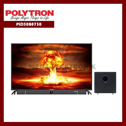 Polytron PLD50B8750 LED TV 50 inch CINEMAX SOUNDBAR