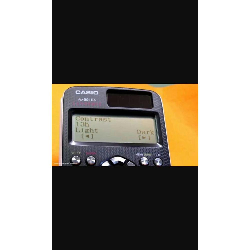 Casio FX-991EX - Technical & scientific calculator Terlaris