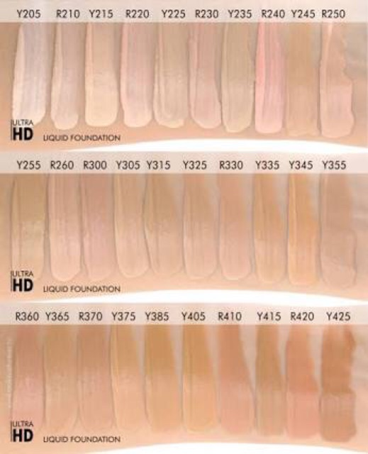 make up forever ultra hd y235