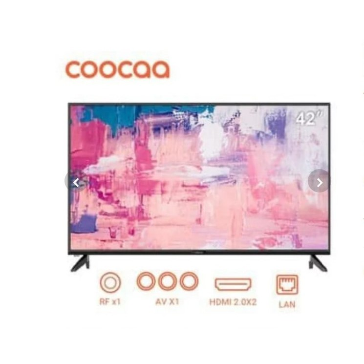 COOCAA Smart LED TV 42 Inch 42CTC6200 Android TV