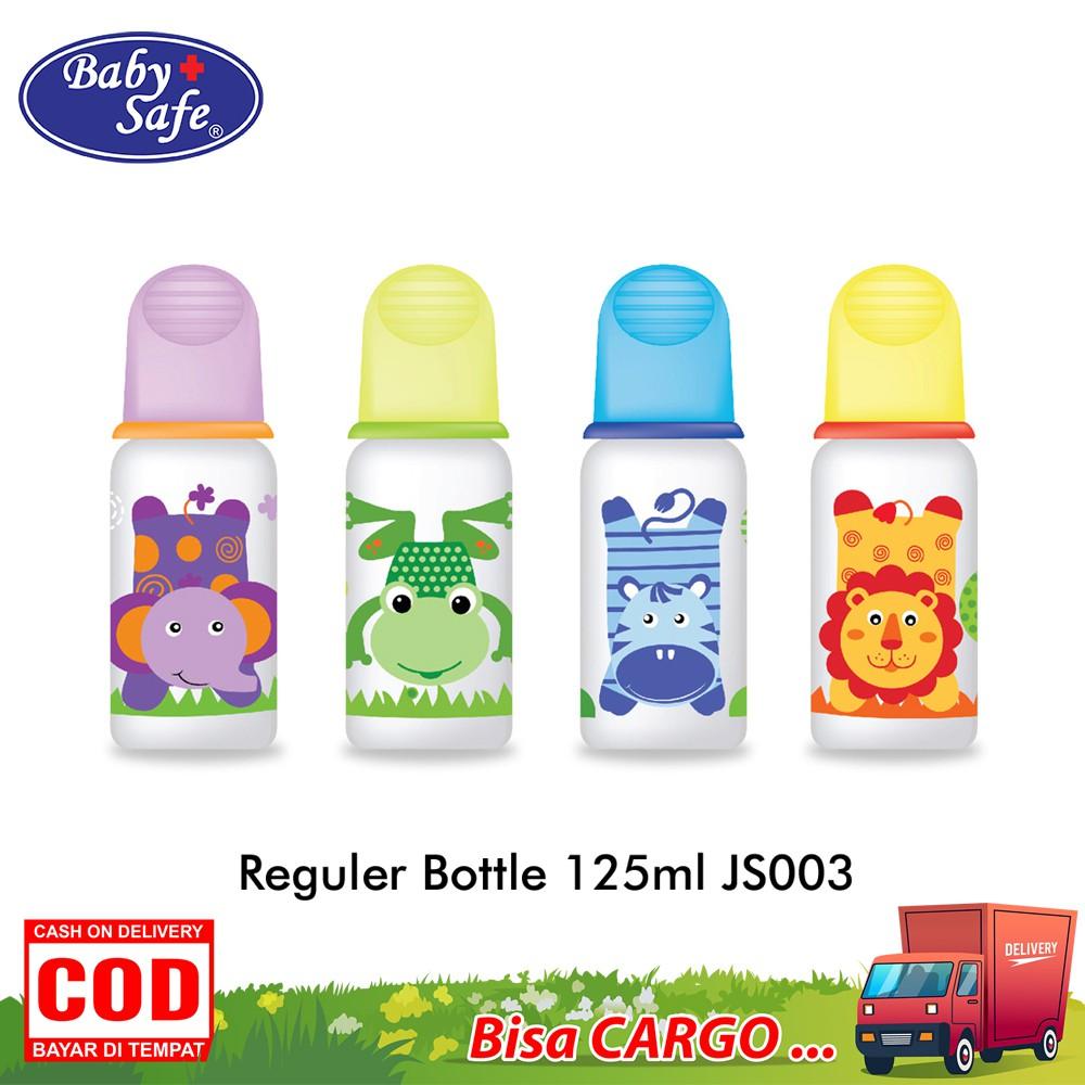 BABY SAFE Reguler Bottle Baby 250 ML JS004 BPA Free Botol Susu Bayi Karakter | Shopee