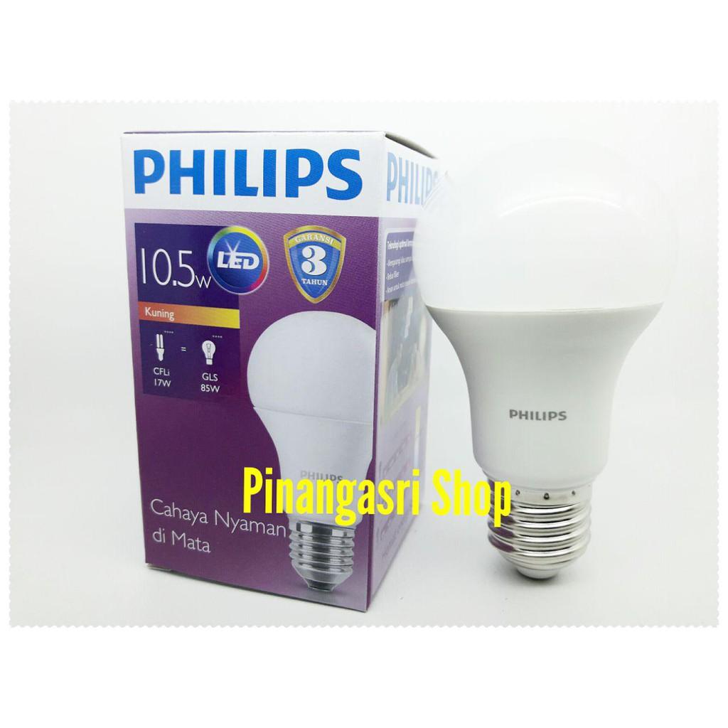 Promo Lampu LED Philips 6 warm white / kuning Bohlam philip 6watt 6w 6 w Bulb | Shopee Indonesia
