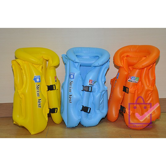 Bestway Swim Safe Step B Swim vest (Kuning) jaket Rompi Pelampung Anak | Shopee Indonesia