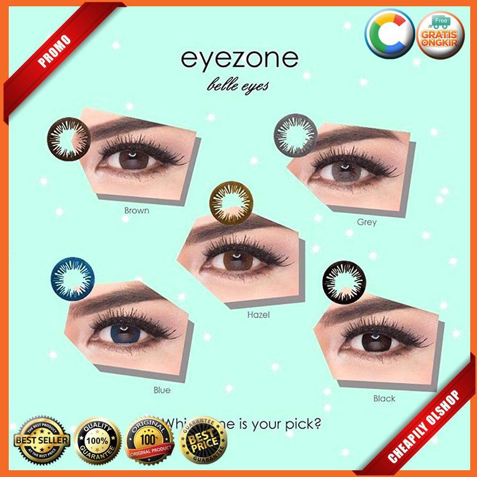 Softlens Eyezone Belle eyes Normal / Softlense bele eye | Shopee Indonesia