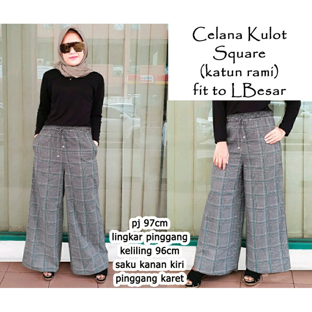 Cn 6155 Pants Kulot Jumbo Celana Big Size Xxl Simple Elegan Celia Rok Pant Pasangan Pria Wanita Cp Cantik St Shopee Indonesia