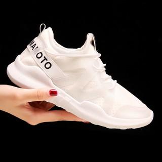 Sepatu Sneakers Sport Casual Bahan Breathable