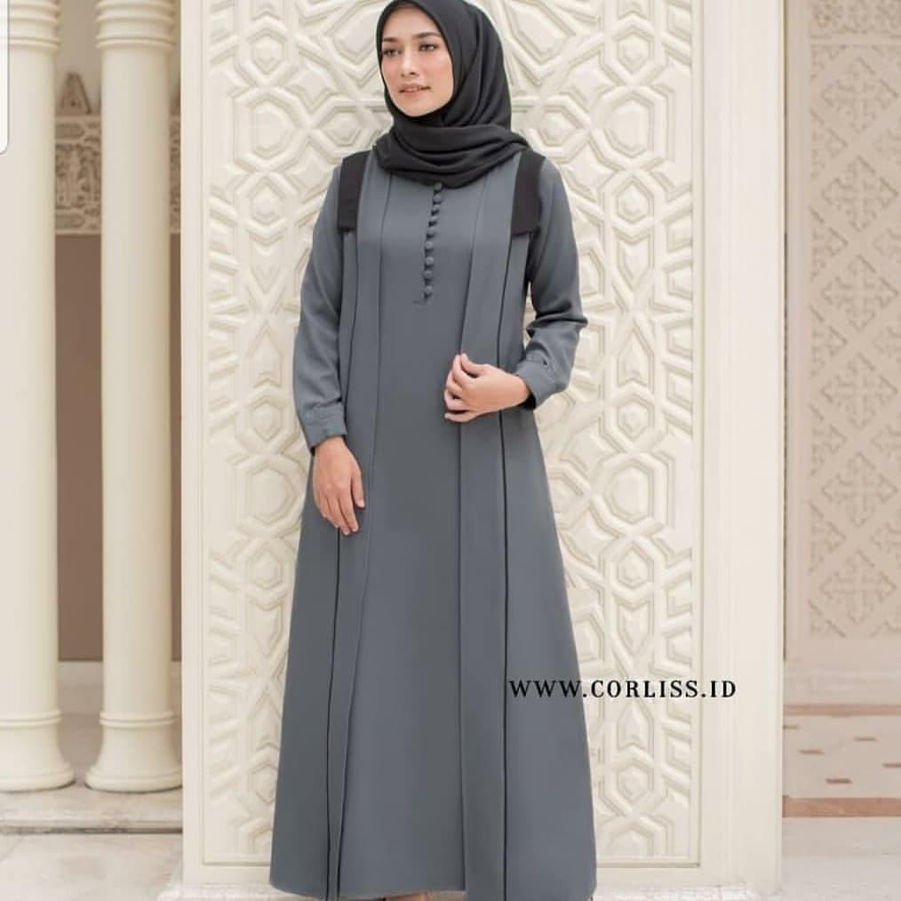 Baju Gamis Wanita Terbaru Shiya Dress Termurah