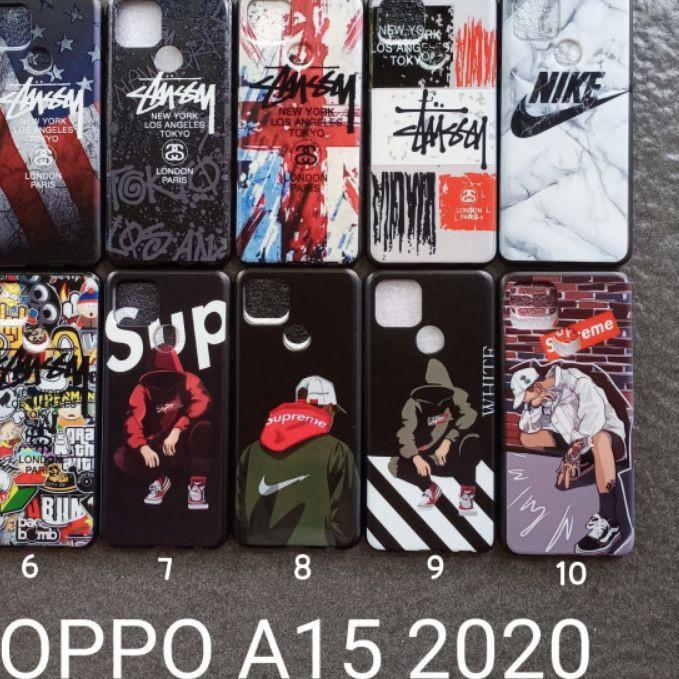 Soft case OPPO A15 2020 MOTIF GAMBAR KARAKTER COWOK soft case softsell silikon cover casing