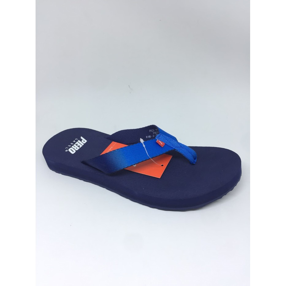 Piero Puna Sandals Navy White Shopee Indonesia Dr Kevin Men 97201 Brown Cokelat Muda 40