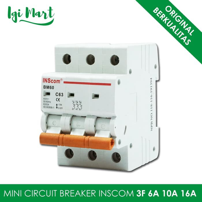 10A Mini Circuit Breaker