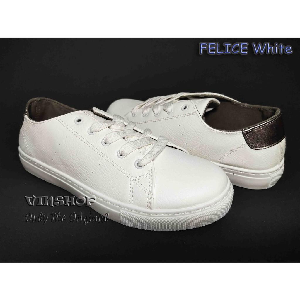 Sepatu Wanita Airwalk Felice White Original Aiwx8f1001wh