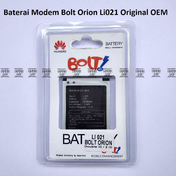 Baterai Modem Bolt Orion Movimax MV 1 Li021 Original Batre Batrai Battery   Shopee Indonesia