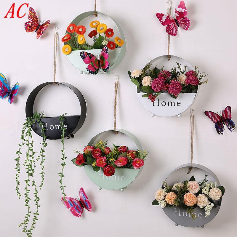 Nordic Ins Pot Bunga Hiasan Dinding Ruang Makan Ruang Tamu H