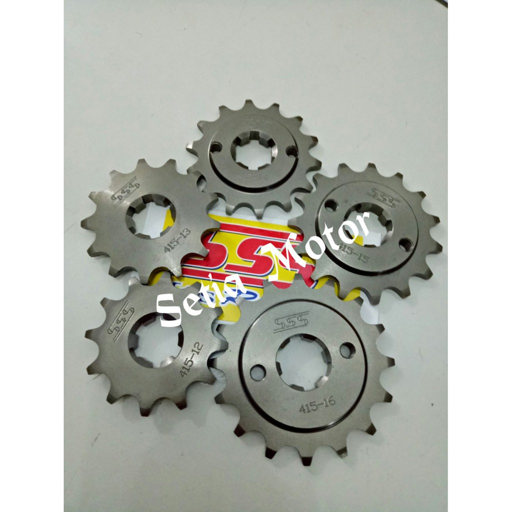 Gear Sss 428 Motor Cb 150 All New Megapro Gl Pro Tiger Sonic Belakang 36 37 38 39 40 Rx King Mx Jupiter Z Ger Gir Set Original Sb Shopee Indonesia