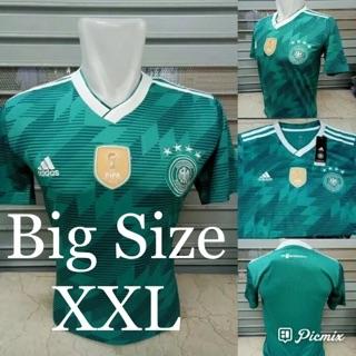 Jersey Baju Big Size Jumbo XXL 2XL Jerman Away Big Size Jumbo XXL 2XL World Cup