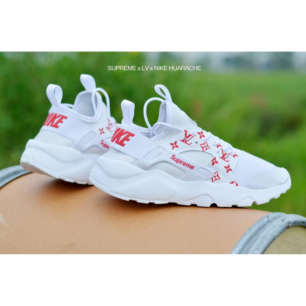 Sepatu Nike Air Huarace Woman Pink Salem Sneakers Cewe Lagi Hits Nike Supreme LV Huarache Grade Ori