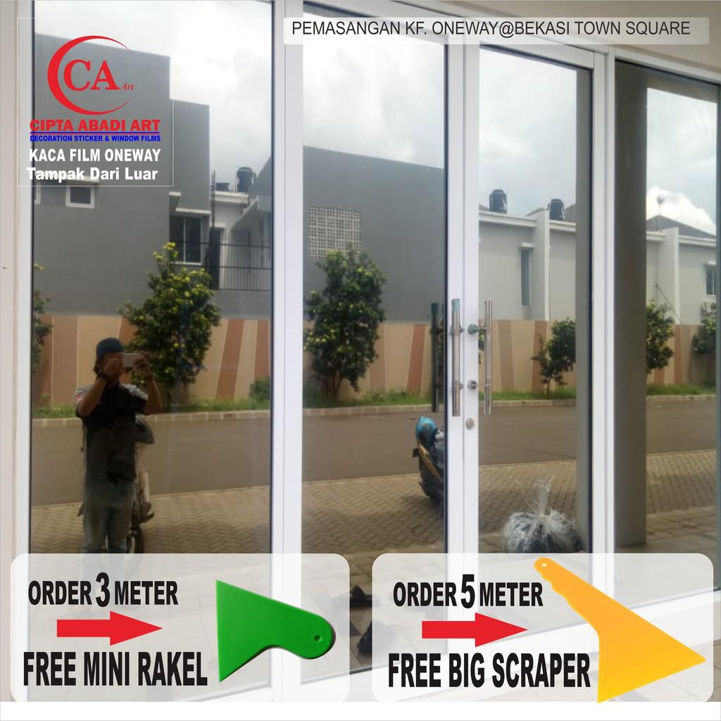 Stiker Kaca Kaca Film Oneway Untuk Rumah Kantor Ruko Gedung Shopee Indonesia