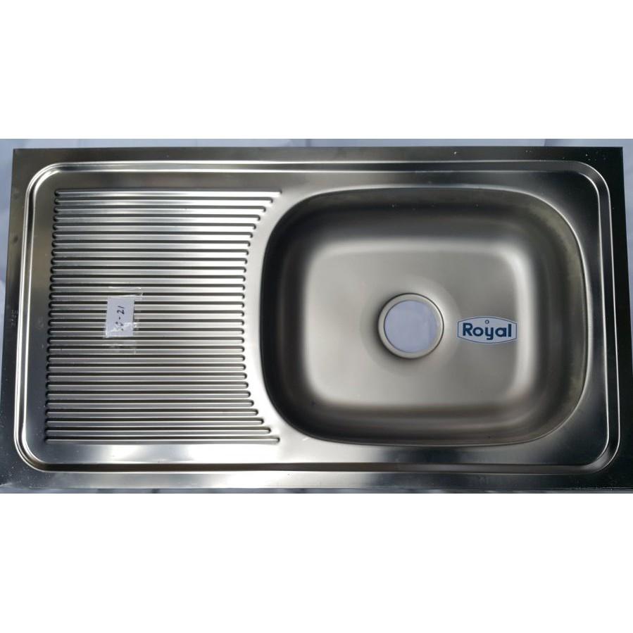 Bak cuci piring kitchen sink royal sb 35 shopee indonesia