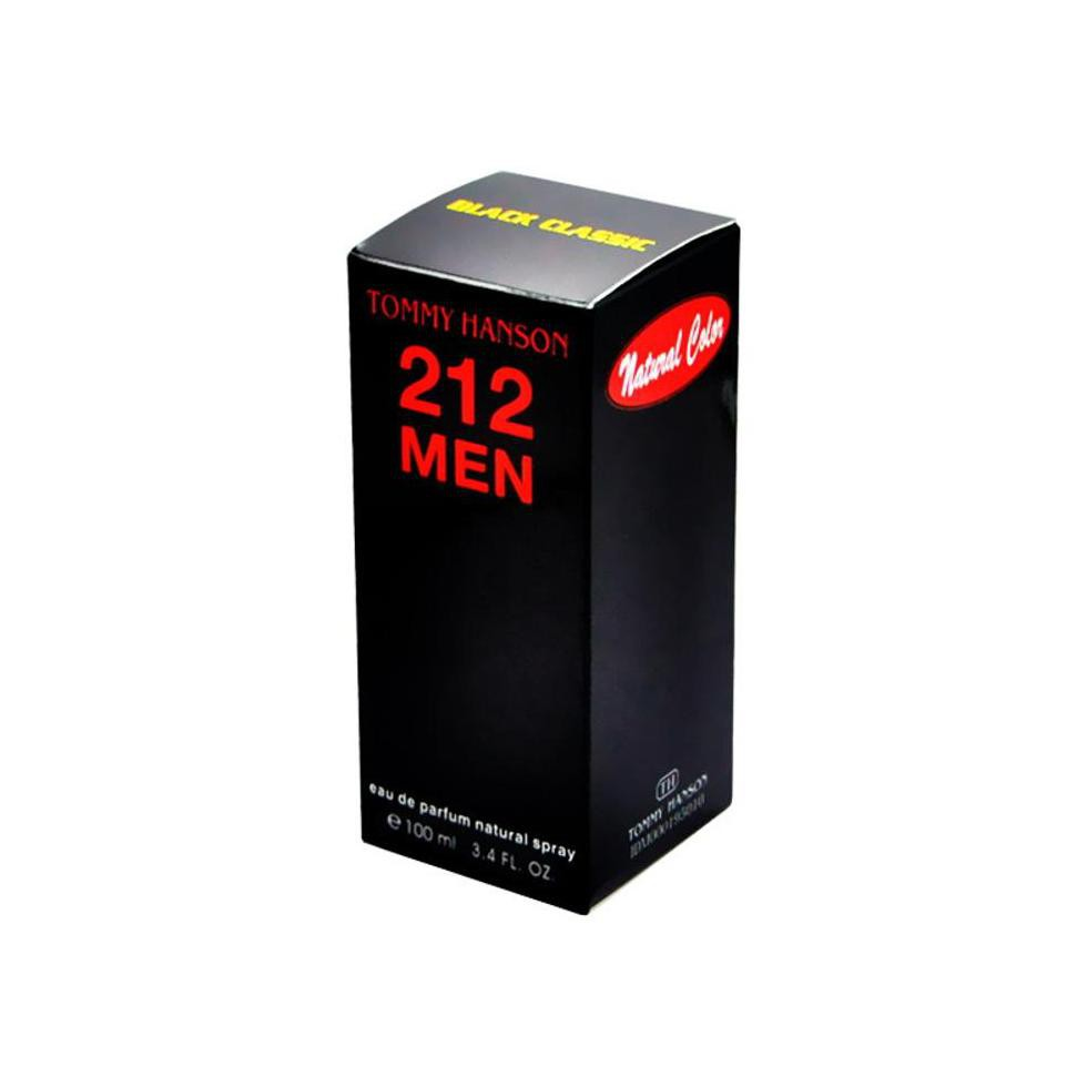 Tommy Hanson Parfum 212 Men Silver Classic 100ml Dona Store Daftar Source · Parfum Buy.