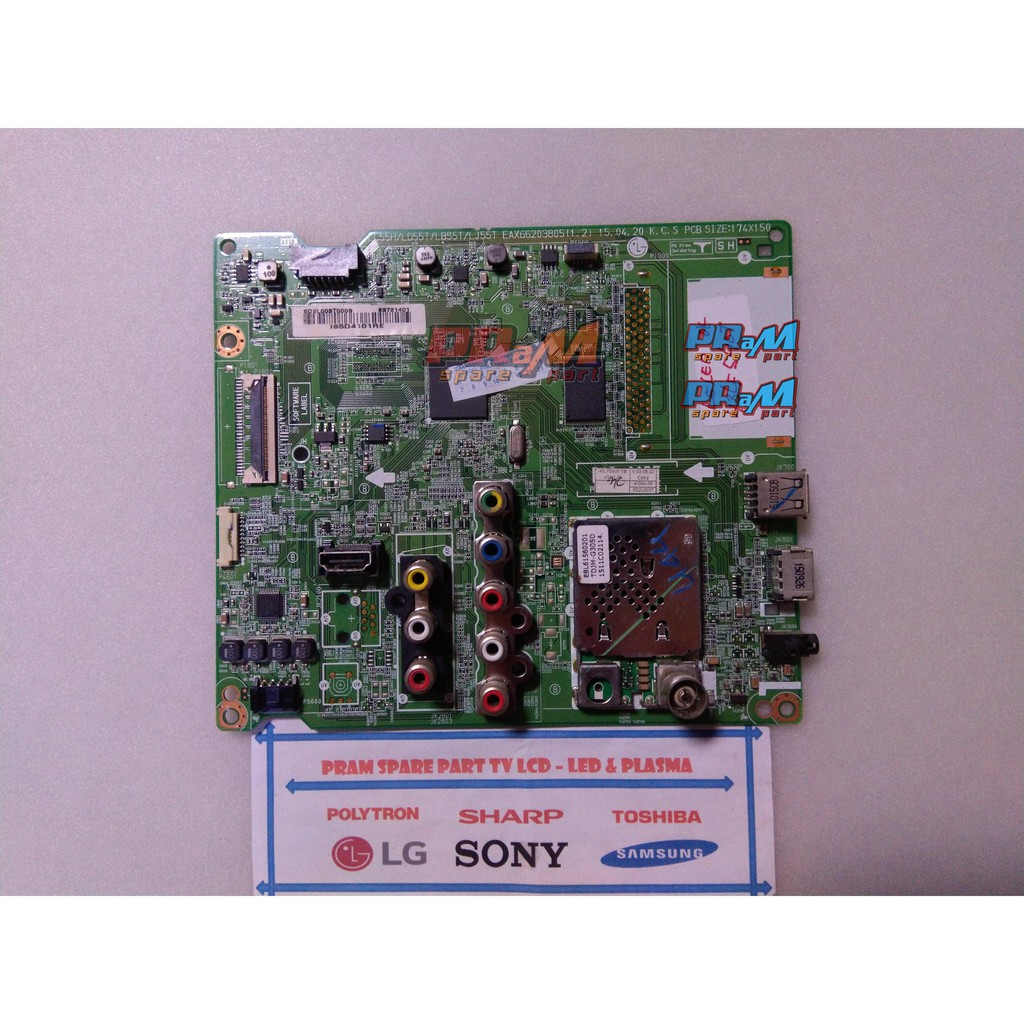 MB 49LF550 MAINBOARD TV LG LED 49LF550 T ORIGNAL