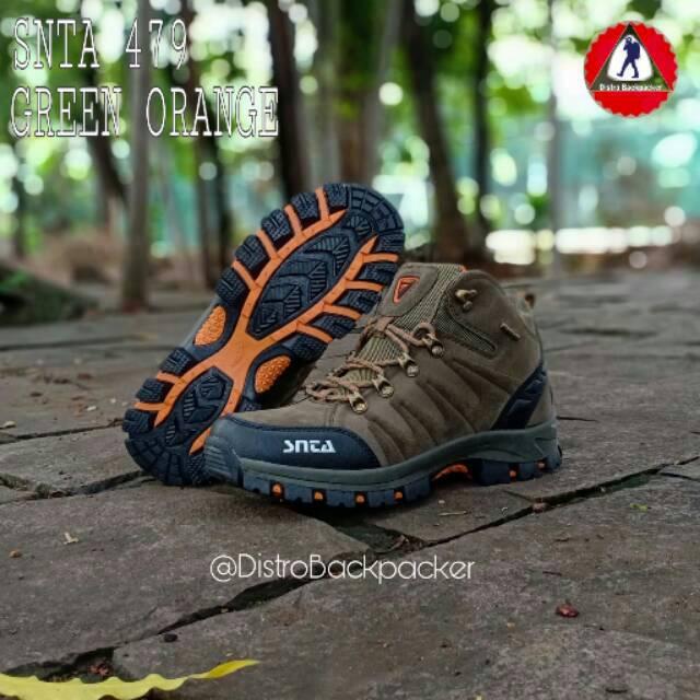 Sepatu Gunung SNTA 479 - Sepatu Outdoor - Sepatu Boots Hiking Trekking  0a56aef268