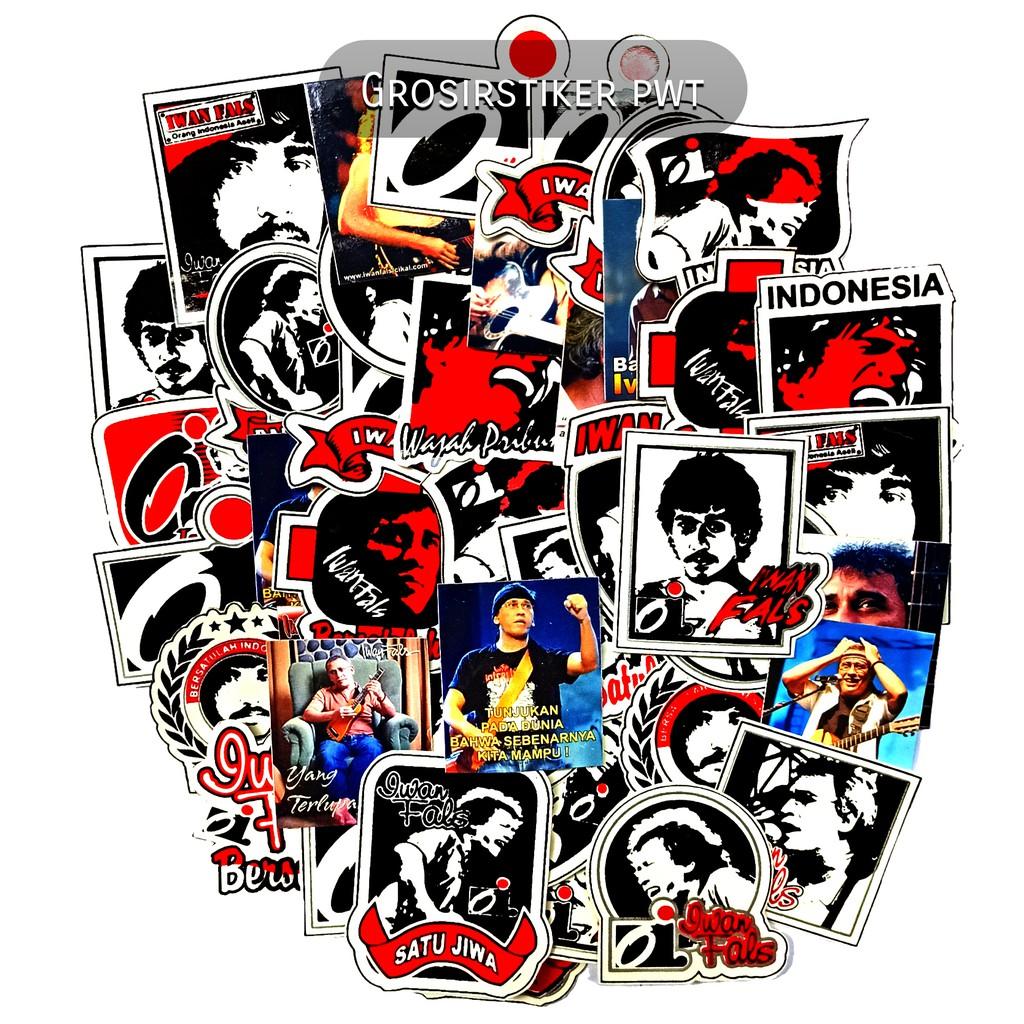 Isi 10 Pcs Sticker Tumblr Iwan Fals Oi Orang Indonesia Wajah Pribumi Shopee Indonesia