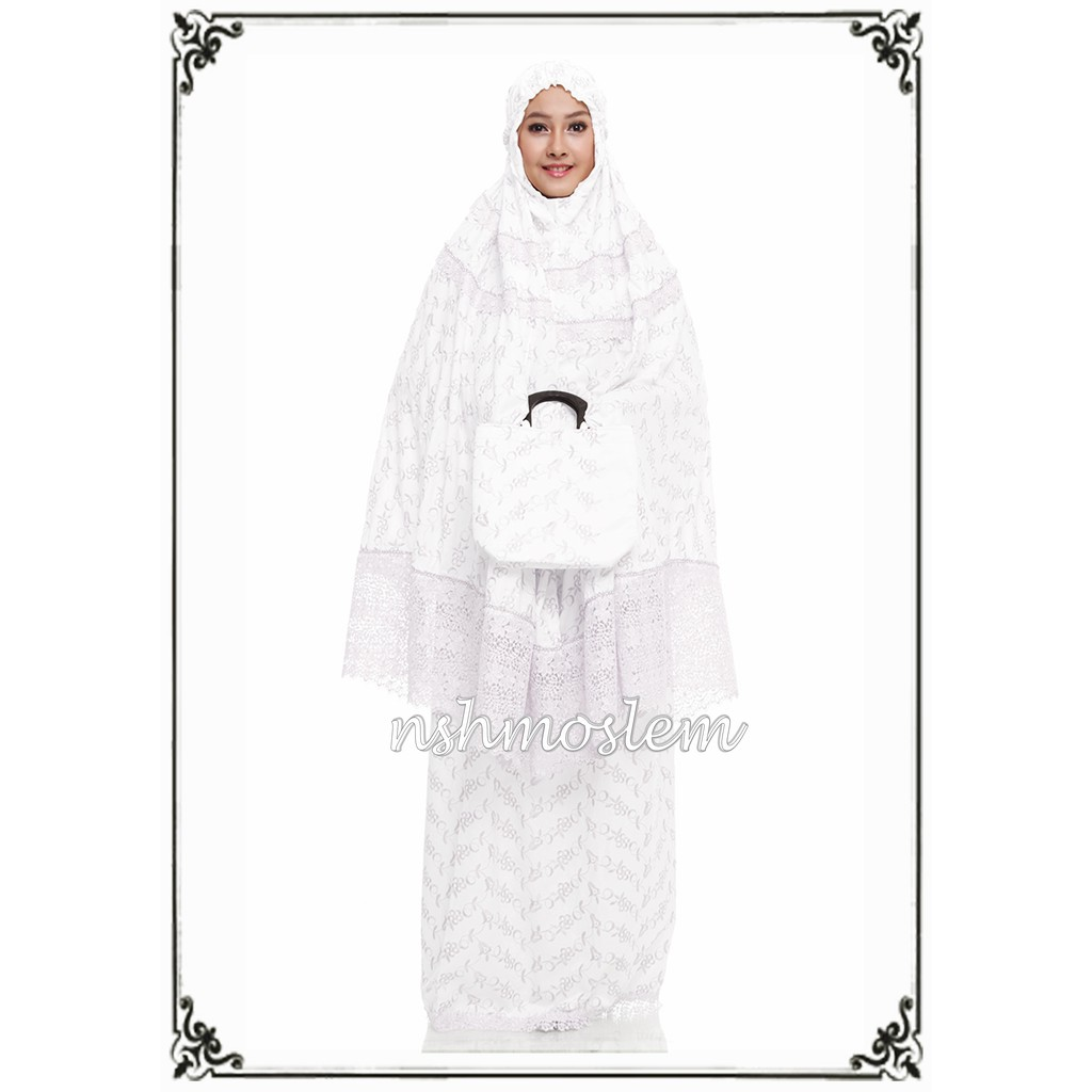 Mukena Dewasa Kd Dibaa Black By Nsh Shopee Indonesia Tatuis Tiara 322 Brown