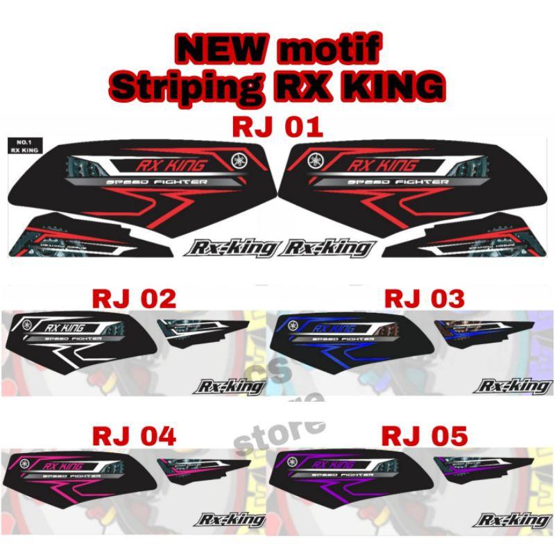 STRIPING RX KING Striping RX King - Stiker Rx King List Variasi Motor