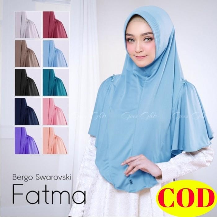Hijab Bergo Syari Pet Antem Model Pinguin Jilbab Kerudung Instan Bahan Jersey Bergo Antem Fatma Shopee Indonesia