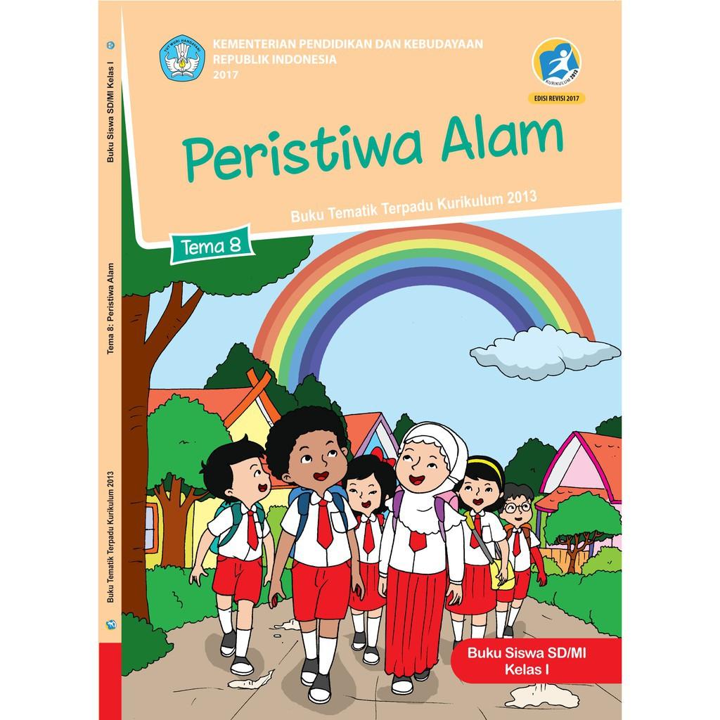 Buku Tematik SD Kelas 4 Tema 8 Daerah Tempat Tinggalku K13 Revisi | Shopee Indonesia