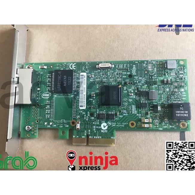 PCIe x4 Intel I350 Quad Gigabit network card